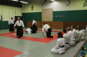 Photo Echange Karaté Aikido